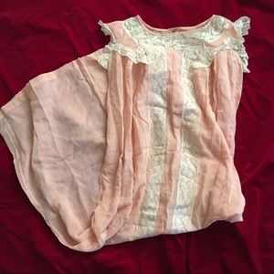 Vintage 30s cotton nightgown